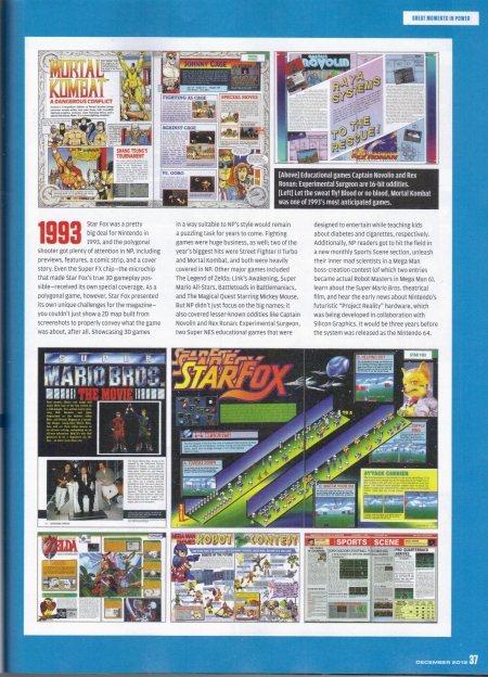 Nintendo Power December 2012 Page 37