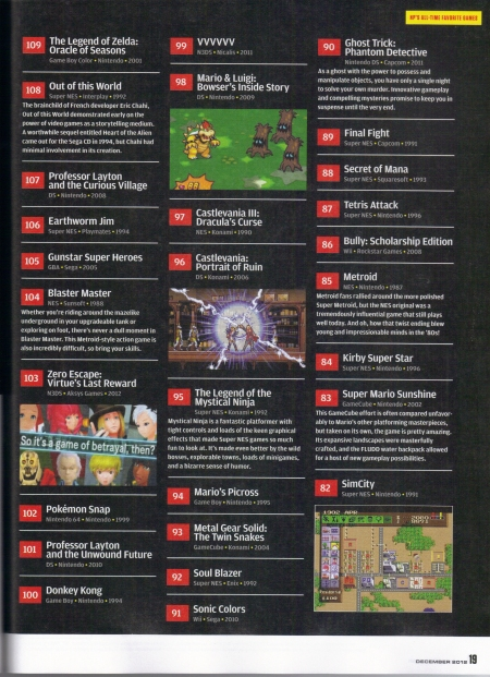 Nintendo Power December 2012 Page19