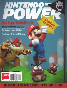 Nintendo Power December 2012